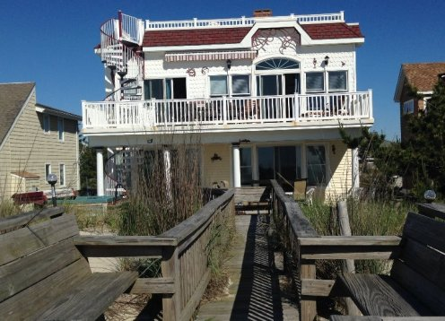 Oceanfront,Handicap Accessible, 7decks, Hot Tub, Game room, Elevator