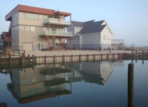 Long Beach Island's Best Kept Secret - Newer 4BR-Bay Front- Lower Unit
