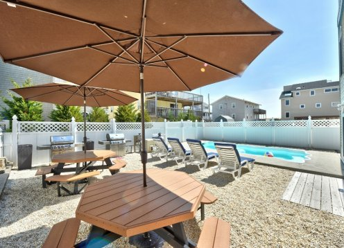 Heated Pool, Amazing Rooftop Views! Steps to the Beach! Book NOW!