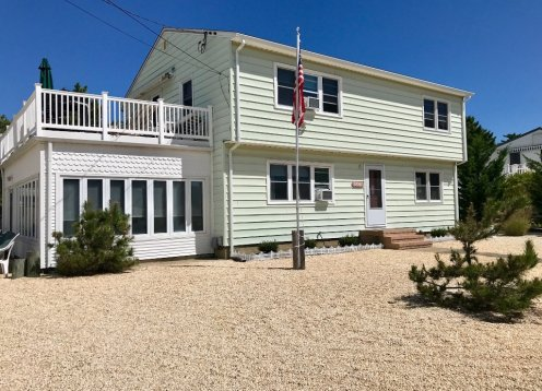LBI North Beach Home, Private Lane Bayside, EASY Walk to the Beach