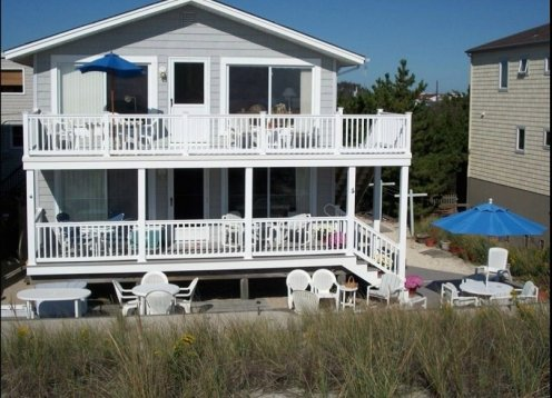 Oceanfront 2nd Floor Duplex - Private beach access