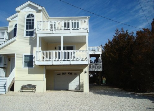 Center Beach Haven- Just park and walk! Private yard.