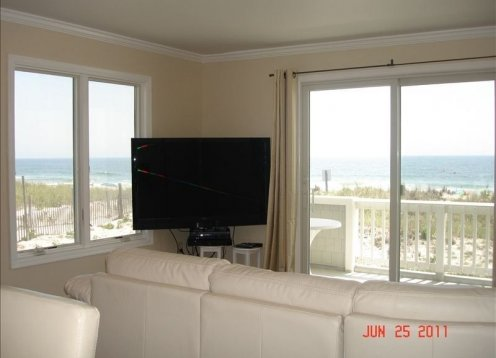 Oceanfront End Unit Condo W Pool - Centre St, Beach Haven