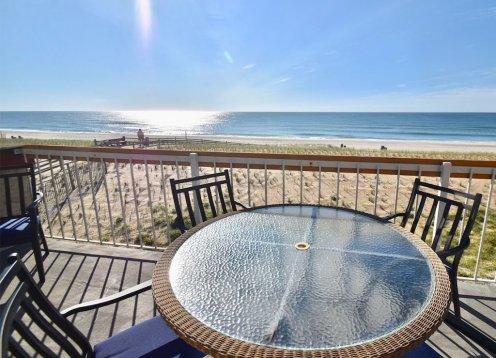 Oceanfront 3 Bedroom 3 Bath 2-Story Condo in Beach Haven