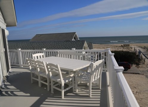 New Oceanblock House with Amazing Ocean Views. Just 2nd off beach.