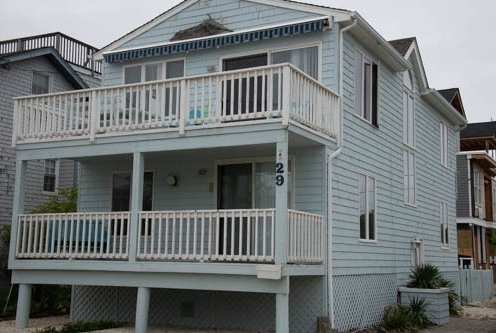 Beautiful Oceanside House on Lbi. Three Houses to the Ocean.