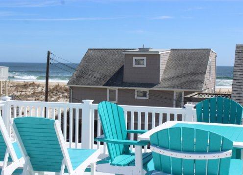 Family Friendly-Two Houses to Beach-Ocean Views-Ocean Block