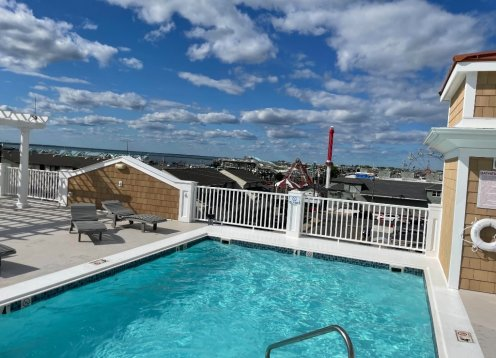 ROOFTOP POOL in Beach Haven's NEW Hub at Victoria Rose Condominiums